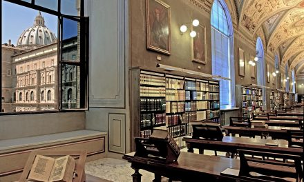 One more day in the Biblioteca Apostolica Vaticana